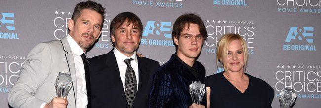 'Boyhood' vence a 'Birdman' en los Critics' Choice Awards 2015