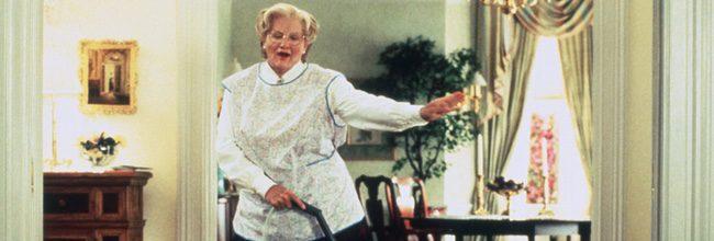 Robin Williams en 'Señora Doubtfire'