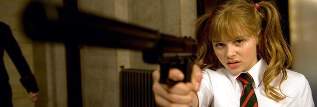 Chloë Grace Moretz en 'Kick-Ass'