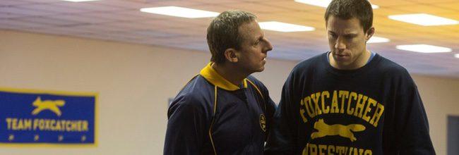Steve Carell y Channing Tatum en 'Foxcatcher'