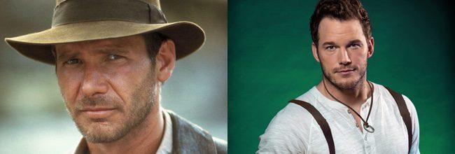 Harrison Ford y Chris Pratt