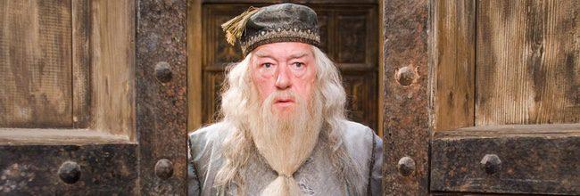 Michael Gambon en la saga 'Harry Potter'