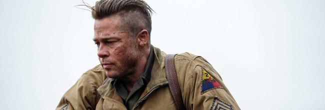 Brad Pitt en 'Corazones de acero'
