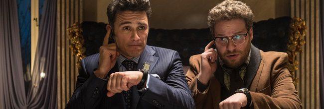 James Franco y Seth Rogen en 'The Interview'