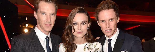 Benedict Cumberbatch, Keira Knightley, Eddie Redmayne