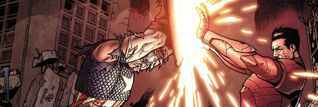 Capitán América y Iron Man se enfrentan en Civil War