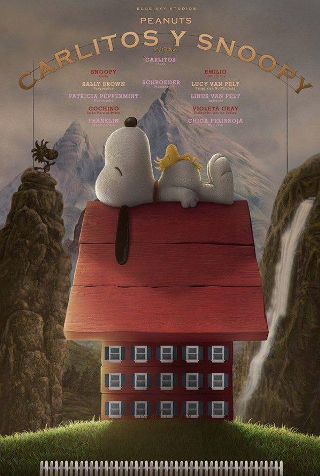 Snoopy en el póster de 'El Gran Hotel Budapest'