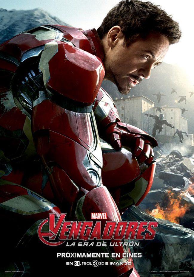 Cartel promocional de 'Vengadores: La era de Ultrón'