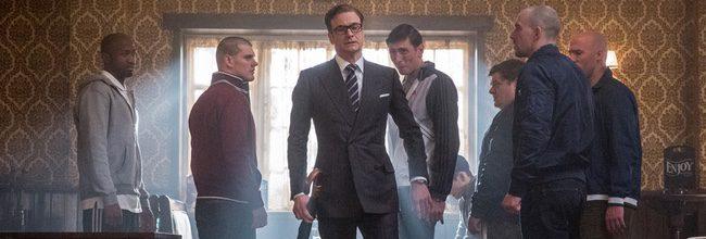 Colin Firth en 'Kingsman: Servicio Secreto'