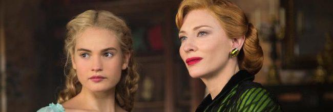 Lily James y Cate Blanchett en 'Cenicienta'