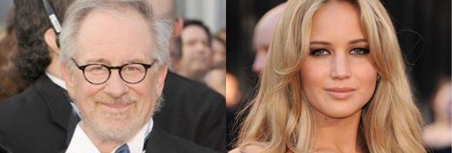 Steven Spielberg y Jennifer Lawrence