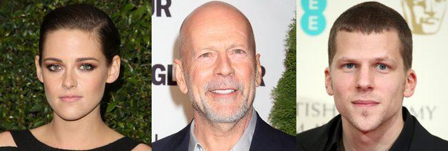 Kristen Stewart - Bruce Willis - Jesse Eisenberg