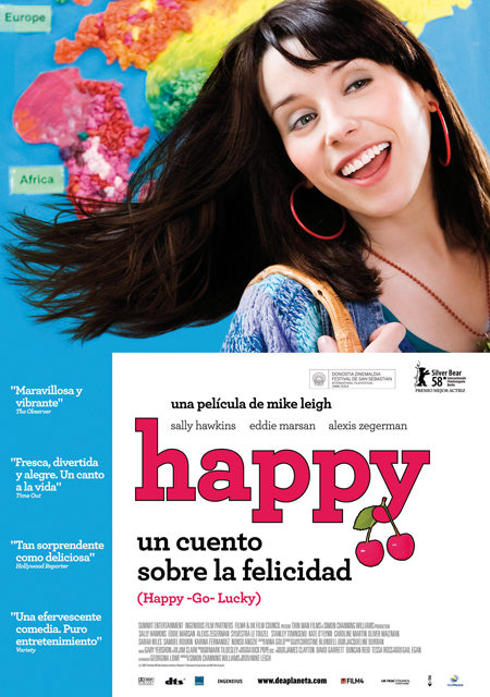 Cartel en castellano de 'Happy'
