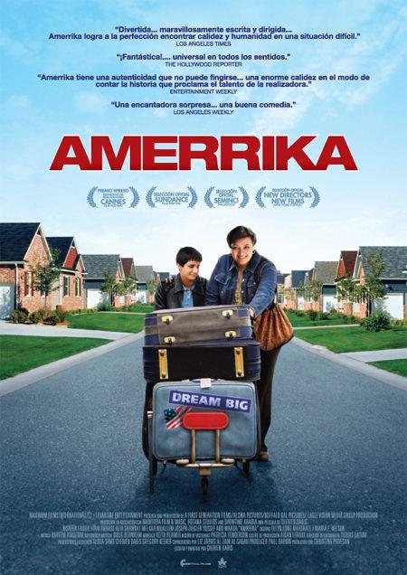 Cartel en español de 'Amerrika'