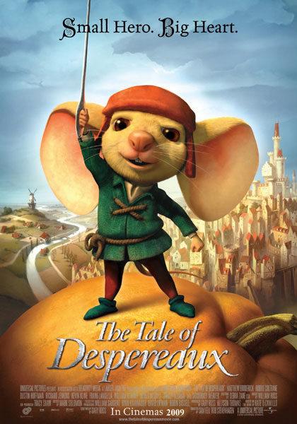 Nuevo póster de 'El valiente Despereaux'