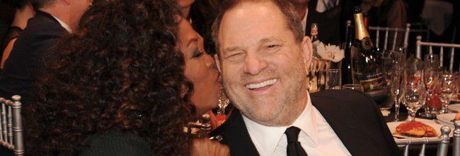 Oprah Winfrey y Harvey Weinstein