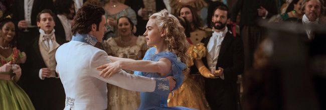Richard Madden y Lily James en 'Cenicienta'