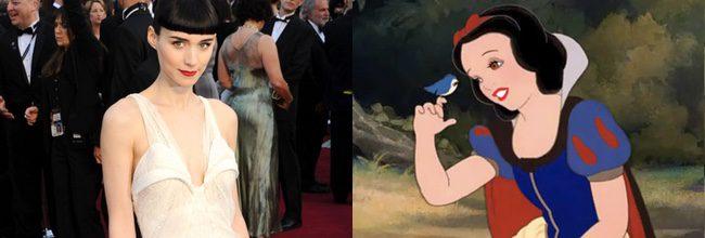 Rooney Mara en 'Blancanieves y los siete enanitos'