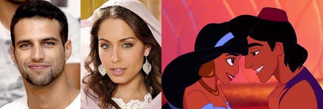 Jesús Castro e Hiba Abouk en 'Aladdin'