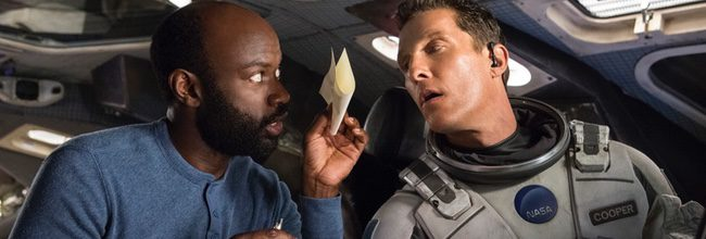 David Oyelowo y Matthew McConaughey en 'Interstellar'