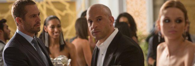 Paul Walker y Vin Diesel en 'Fast & Furious 7'