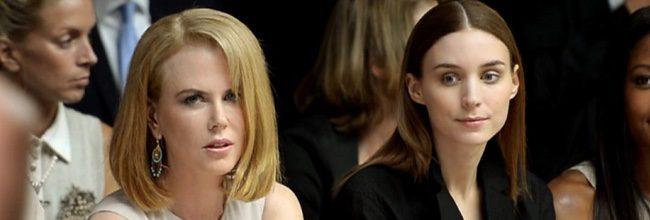 Rooney Mara junto a Nicole Kidman