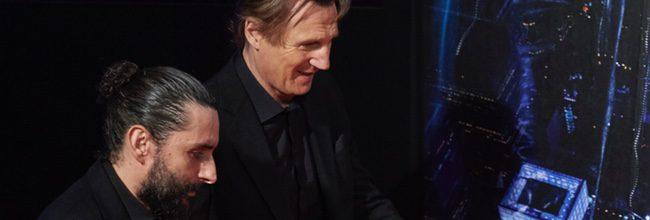 Liam Neeson presentando 'Una noche para sobrevivir'