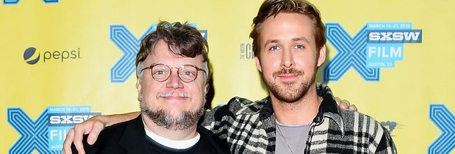 'Ryan Gosling y Guillermo del Toro'