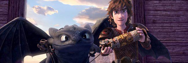 Imagen de la serie de Netflix de 'Cómo entrenar a tu dragón'