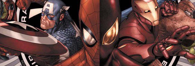 Imagen del cómic 'Civil War' de Marvel
