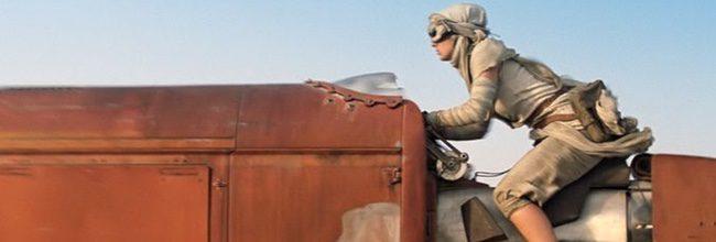 Daisy Ridley en 'Star Wars: Episodio VII - El despertar de la fuerza'