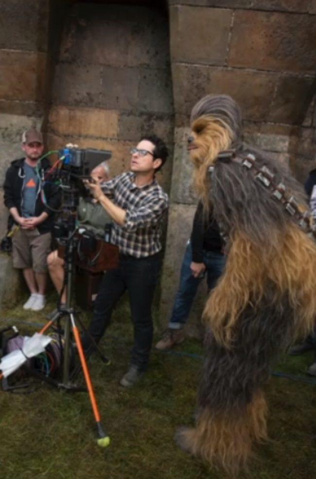 Rodaje de Star Wars: El despertar de la fuerza