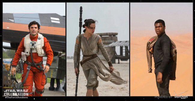 Reparto de 'Star Wars: Episodio VII - El despertar de la fuerza'