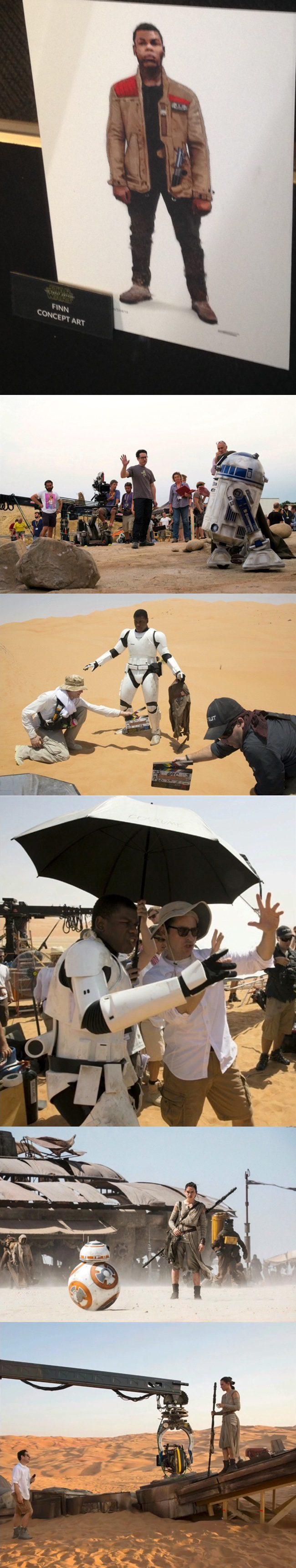 Rodaje de 'Star Wars: Episodio VII - El despertar de la fuerza'