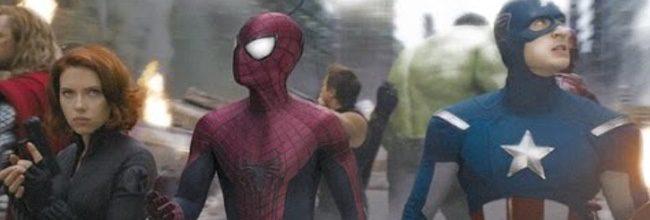 Montaje de Spider-Man en 'Los Vengadores'