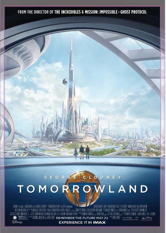 Póster IMAX de 'Tomorrowland: El mundo del mañana'