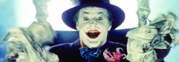 Jack Nicholson como el Joker