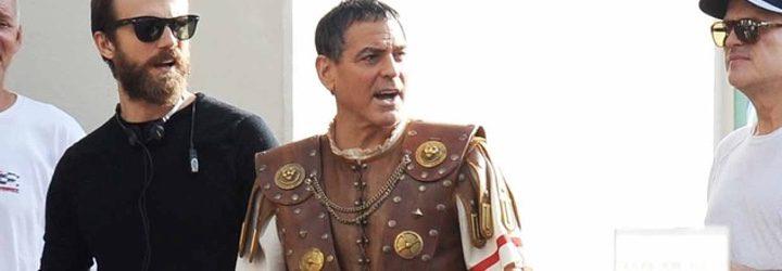 George Clooney en el set de 'Hail Caesar!'