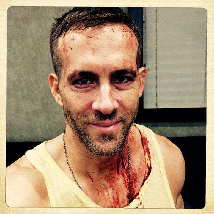 Imagen del rodaje de 'Masacre (Deadpool)', subida por Ryan Reynolds