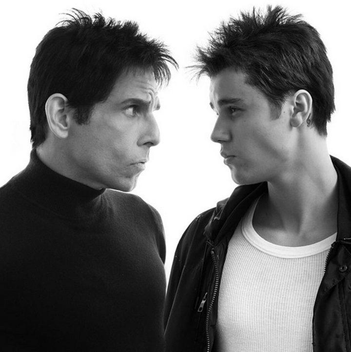 Ben Stiller y Justin Bieber para 'Zoolander 2'