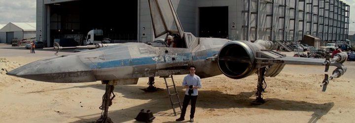 J.J. Abrams en el rodaje de 'Star Wars: El despertar de la Fuerza'
