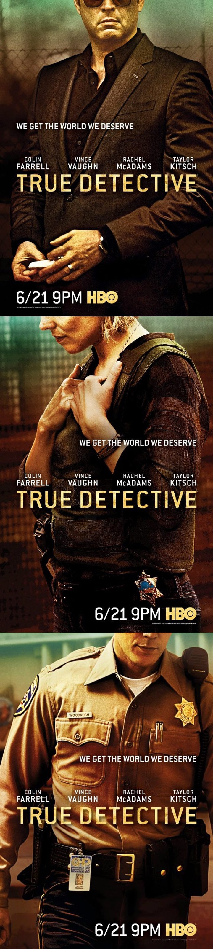 Pósters 'True Detective'