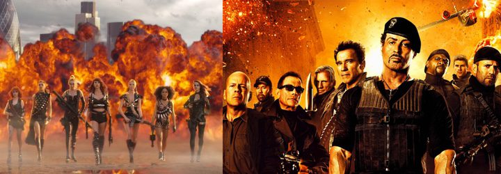 Bad Blood y Los Mercenarios