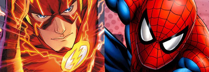 Flash y Spider-Man