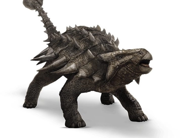 Ankylosaurus de 'Jurassic World'