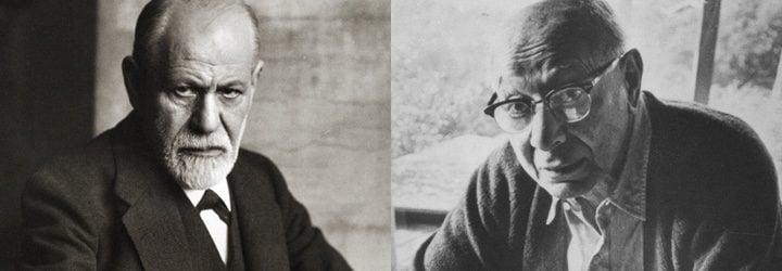 Sigmund Freud y Bruno Bettelheim