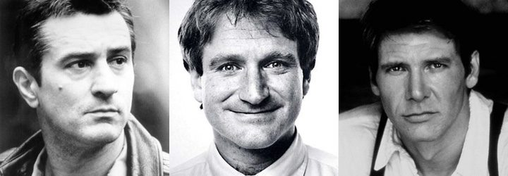 Robert De Niro, Robin Williams y Harrison Ford