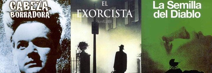 'Cabeza borradora', 'El exorcista' y 'La semilla del diablo'