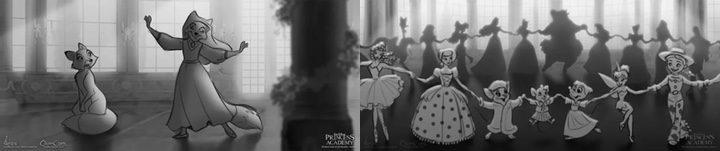 Concept Art de 'Princess Academy'