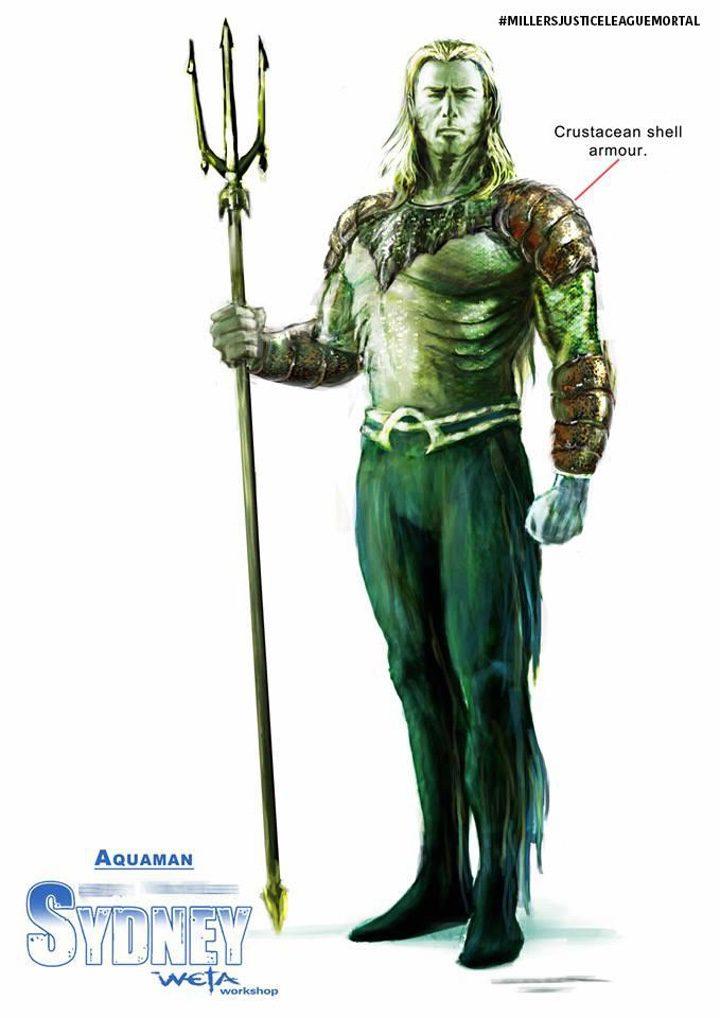 Concept art de Aquaman